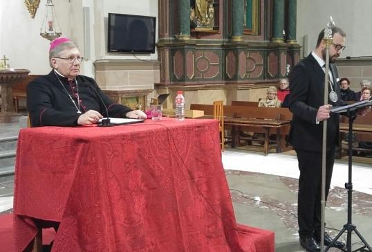 Primer Pregón de Mons. Menéndez como Obispo de Astorga