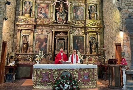 D. JESÚS PRESIDE LA EUCARISTÍA DE LA FIESTA DEL CRISTO EN VARIAS PARROQUIAS DE LA DIÓCESIS