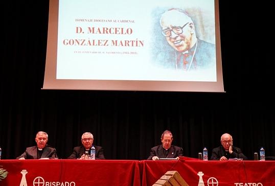 Homenaje de la diócesis de Astorga al Card.D.Marcelo González en el centenario de su nacimiento
