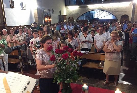 Misa de acción de Gracias por la beatificación de 14 mártires concepcionistas