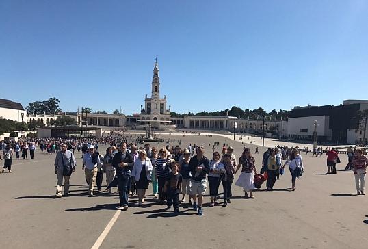 Segundo día de la Peregrinación Diocesana a Fátima