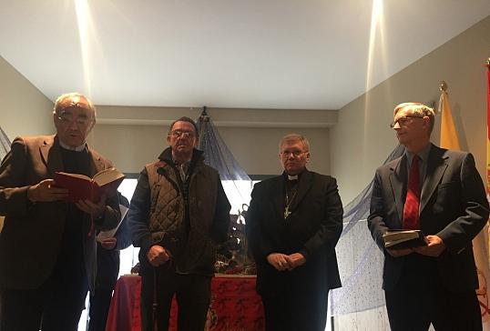 Inauguración del Belén Interconfesional de Cáritas Astorga
