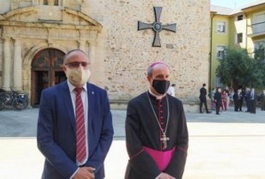 Con el alcalde de Ponferrada