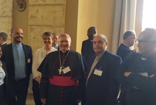 Los presidentes de las Comisiones de Migraciones de Europa, reunidos con el Papa Francisco
