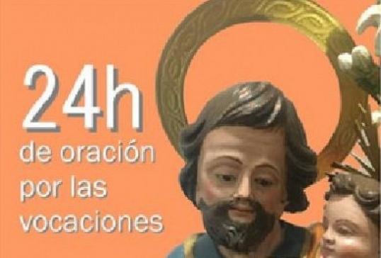 24 horas de oración por las vocaciones