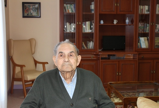 D.Bernardo Álvarez Vega cumple 100 años