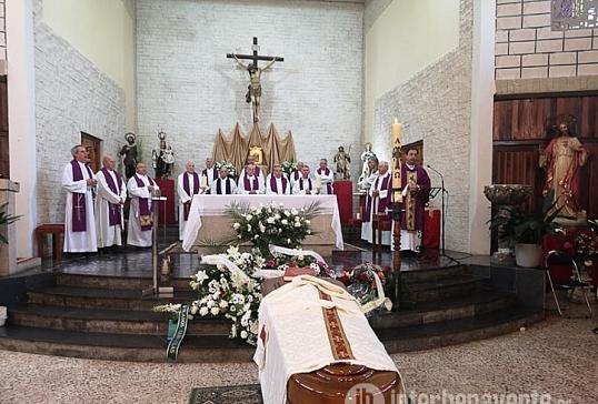 El clero diocesano despide a D. Eladio Ferrero Vaquero