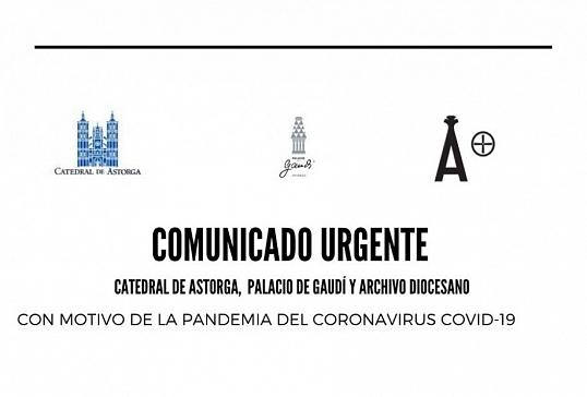 COMUNICADO DE LA CATEDRAL, PALACIO DE GAUDÍ Y ARCHIVO