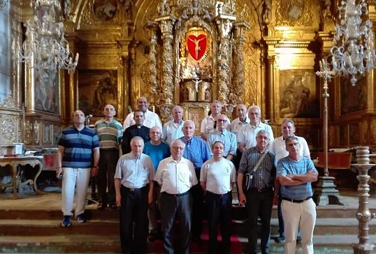 Convivencia de los sacerdotes del arciprestazgo de Ponferrada en la Valduerna