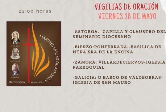 VIGILIAS DE ORACIÓN