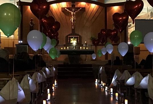 100 familias en el Encuentro de Oración en San José Obrero de Ponferrada