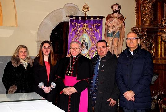Mons. Menéndez, pregonero de la Semana Santa de Santa Marina del Rey