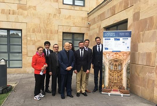 Presentación oficial de la nueva visita turístico-cultural de la Catedral de Astorga