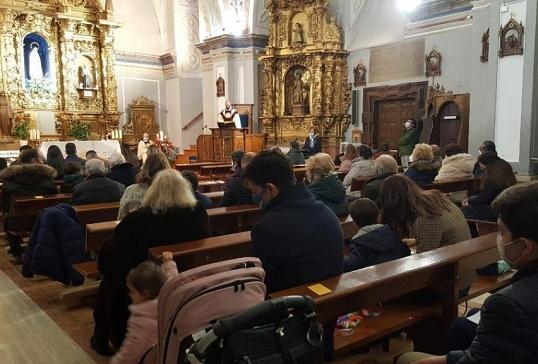 EL OBISPO PRESIDE LA EUCARISTÍA DE LA SAGRADA FAMILIA EN EL SANTUARIO DE FÁTIMA DE ASTORGA