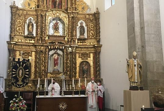 EL SR.OBISPO PRESIDE LA EUCARISTÍA DE LA FIESTA DE NUESTRA SEÑORA DE LOURDES