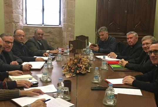 Última reunión del actual Consejo Episcopal