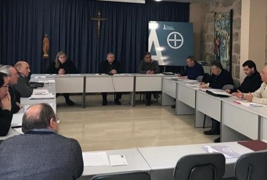 Reunión trimestral del Colegio de Arciprestes y los Vicarios
