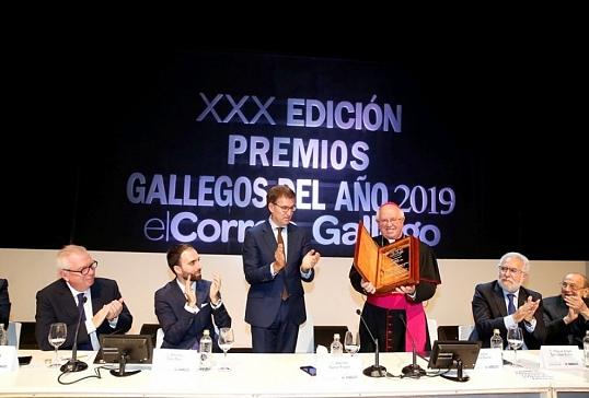 El Arzobispo de Santiago elegido Gallego del Año