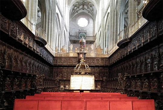 Sillería del coro de la Catedral de Astorga