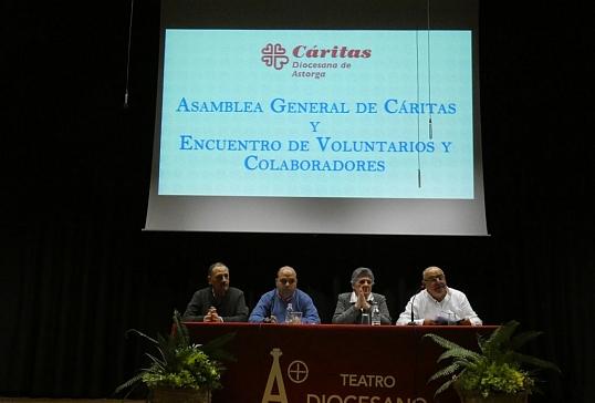 ASAMBLEA GENERAL DE CÁRITAS DIOCESANA Y ENCUENTRO DE VOLUNTARIOS Y COLABORADORES