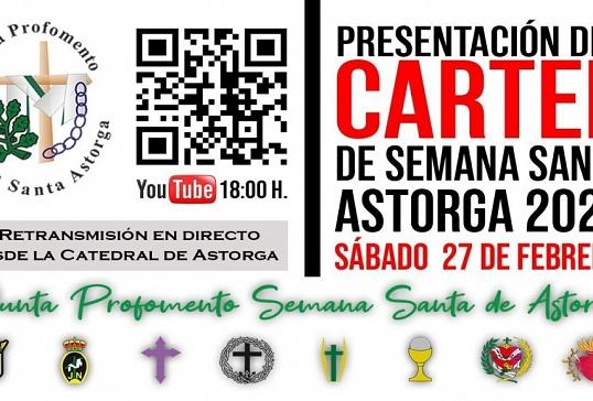 Presentación del cartel de la Semana Santa de Astorga 2021