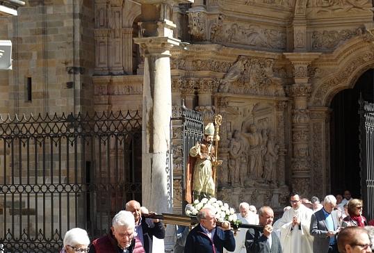 Homenaje a D. Miguel Sánchez Ruiz en la Fiesta de Santo Toribio