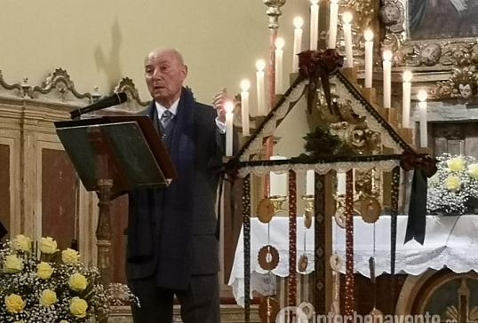 El santuario de Rosinos de Vidriales abre con el pregón la Navidad en el Valle