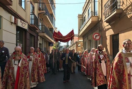 El Lignum Crucis regresa a Liébana