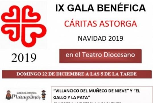 IX GALA BENÉFICA DE CÁRITAS ASTORGA