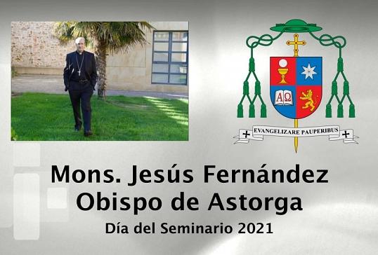 VÍDEO DEL SR.OBISPO ACOMPAÑDO DE LOS SEMINARISTAS MAYORES Y MENORES  DE LA DIÓCESIS