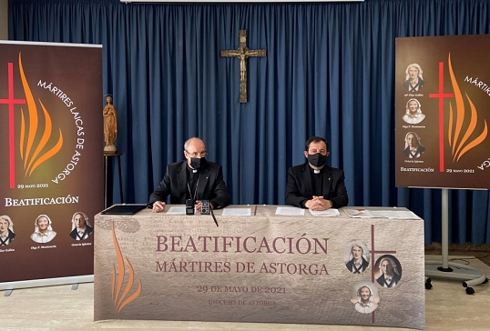 PRESENTACIÓN DEL PROGRAMA DE ACTOS Y CELEBRACIONES DE LA BEATIFICACIÓN DE LAS MÁRTIRES DE ASTORGA