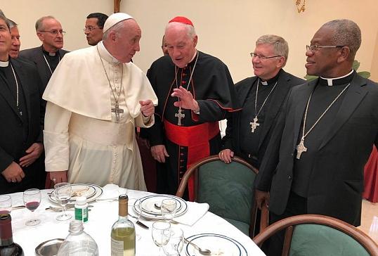 El Obispo de Astorga,recibido por el Papa en Santa Marta
