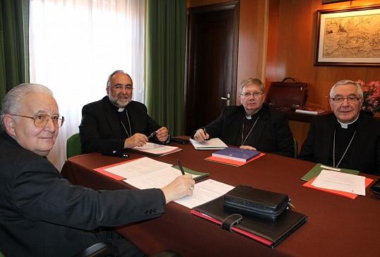 Reunión de obispos de la Provincia Eclesiástica en Oviedo