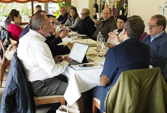 Reunión de delegados de Enseñanza en Valladolid