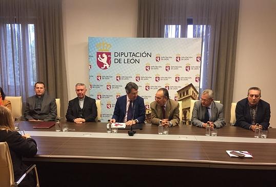 Convenio Diócesis de Astorga- Diputación de León
