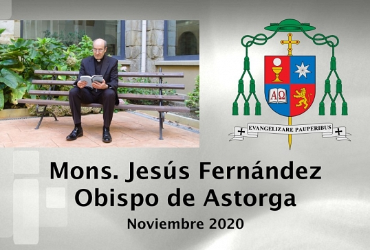 Vídeo del mes de noviembre del Obispo de Astorga