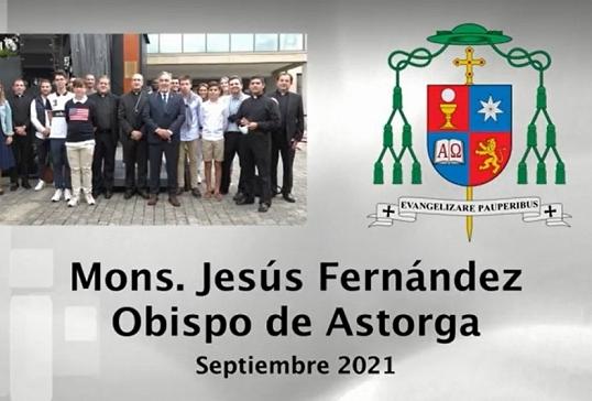 VÍDEO DEL OBISPO DE ASTORGA. SEPTIEMBRE 2021