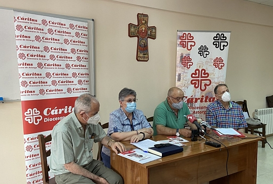 CÁRITAS DIOCESANA DE ASTORGA PRESENTA LA MEMORIA 2019