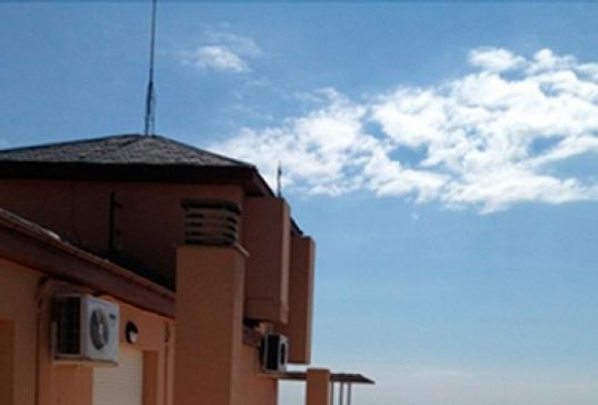 Terraza de la Casa Sacerdotal