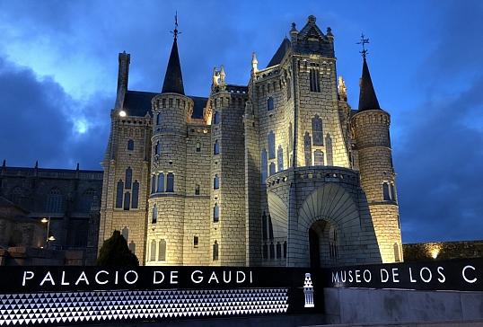 Palacio de Gaudí- Museo de los Caminos