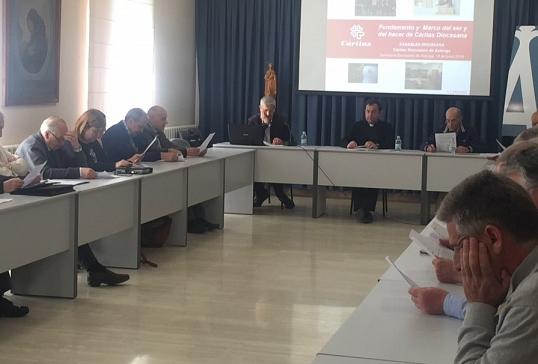 El Administrador Diocesano nombra la Junta Gestora de Cáritas Diocesana