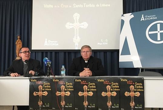 Presentación oficial de la Visita de la Cruz de Santo Toribio a Astorga