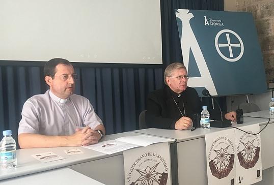 Presentación en Astorga y Ponferrada del Año Diocesano de la Santidad