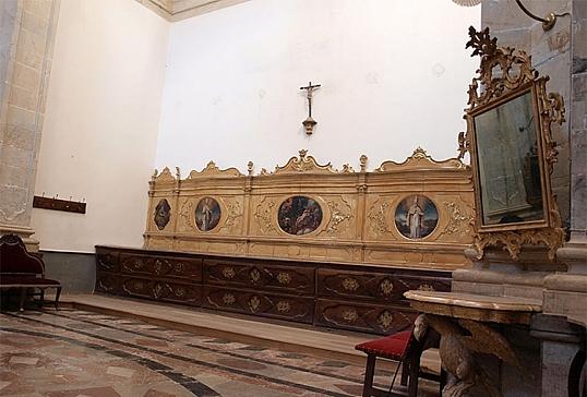 Cajonería de la Catedral de Astorga