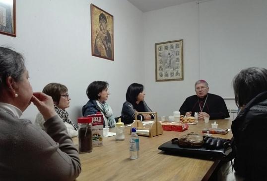 El Obispo concluye su Visita Pastoral en Vidriales con un encuentro en Santibáñez