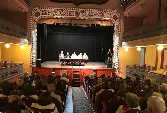 Conferencia sobre San Lorenzo de Brindis