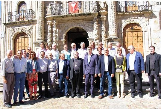 El presidente de la Xunta visita el santuario de As Ermitas