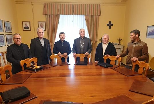 Reunión de delegados del Clero de la Provincia Eclesiástica en Santander