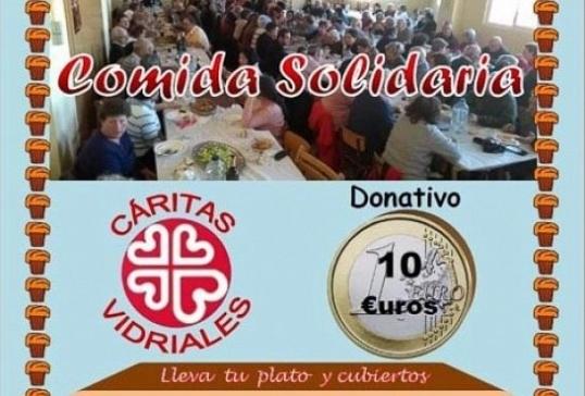 CÁRITAS VIDIRALES ORGANIZA UN ALMUERZO SOLIDARIO