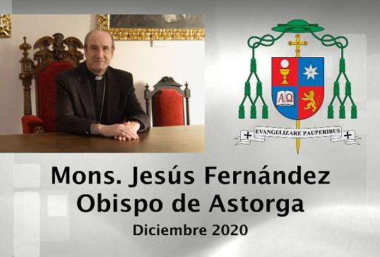 MENSAJE DEL OBISPO DE ASTORGA. DICIEMBRE 2020.